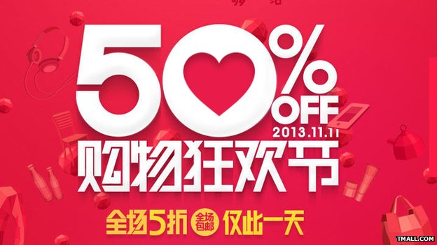 China's 'Cyber Monday' Online Sales Record