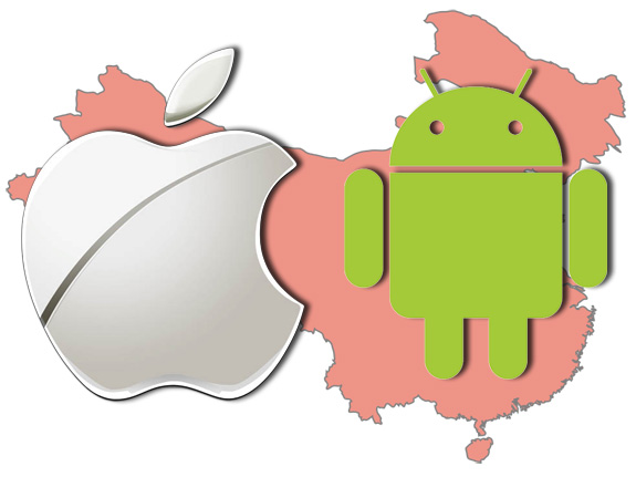 China's Mobile Users' Behaviour – Android vs. iOS