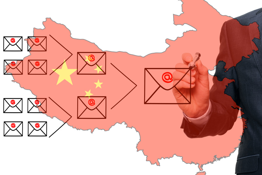 Email marketing for Chinese market