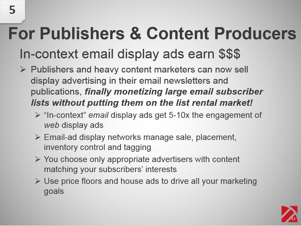 china email marketing monetizing