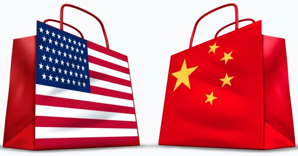 Economy of China vs. US, Infographic