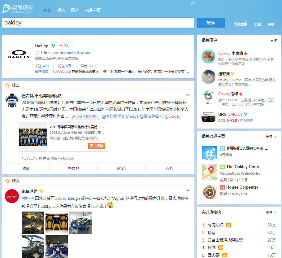 Chinese social media channel market research