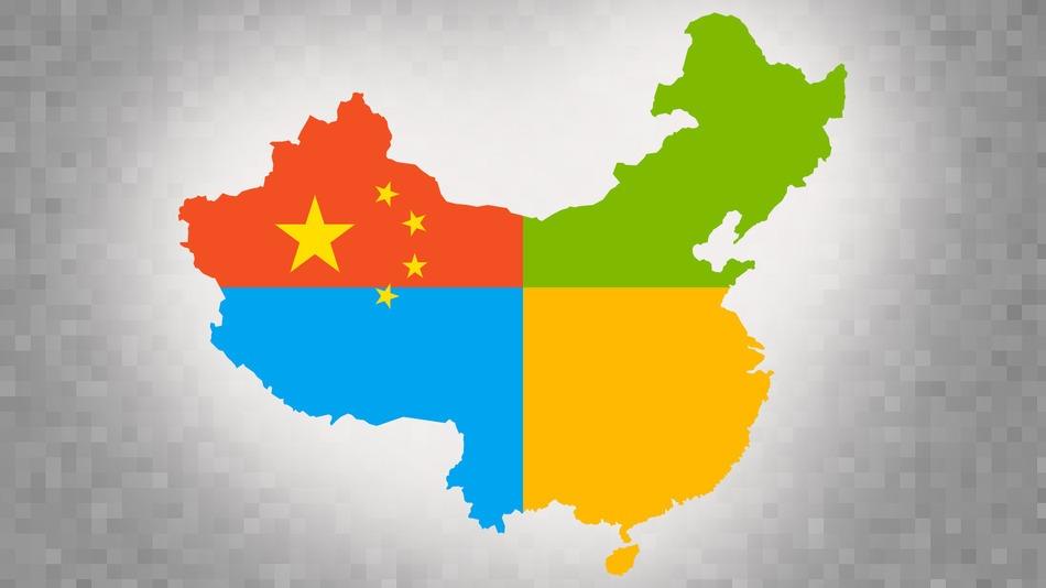 Microsoft Windows in China