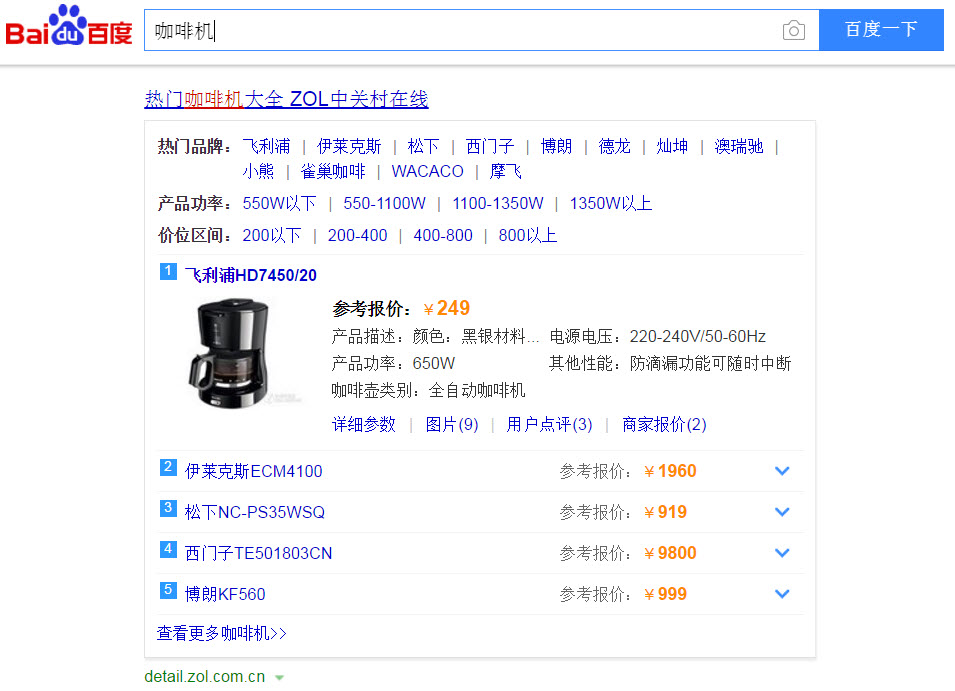 Baidu PPC advertising brand zone