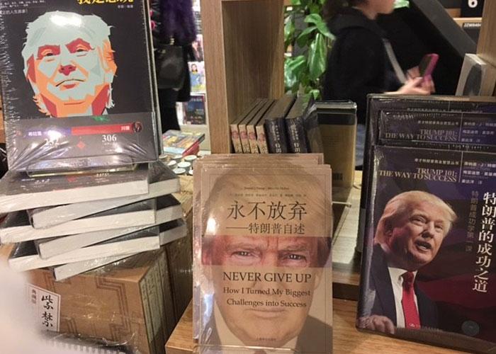 Trump in China books