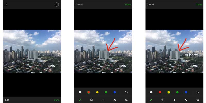 WeChat features photo editor