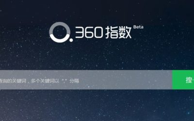 Basics of China Keyword Research: Qihoo Index