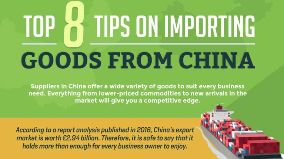 Infographic: 8 Tips On Importing Goods From China