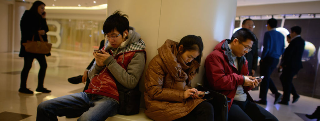 Mobile apps in China